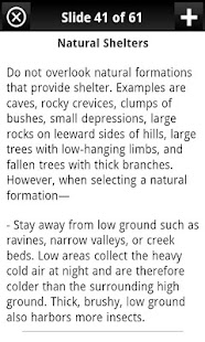 Army Survival Study Guide- screenshot thumbnail