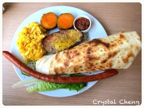 傑米現代茶館 太犯規滿到超界 吃一餐飽整天的超值早午餐!