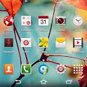 CM11 CM10 GALAXY S4 Red theme icon