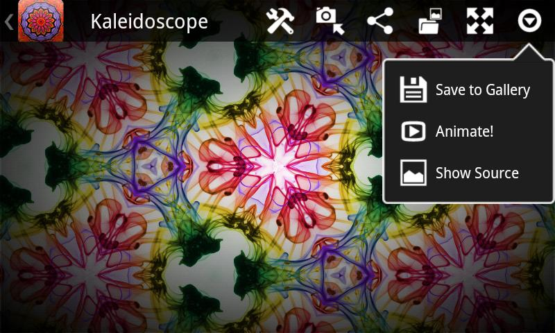 Kaleidoscope- screenshot
