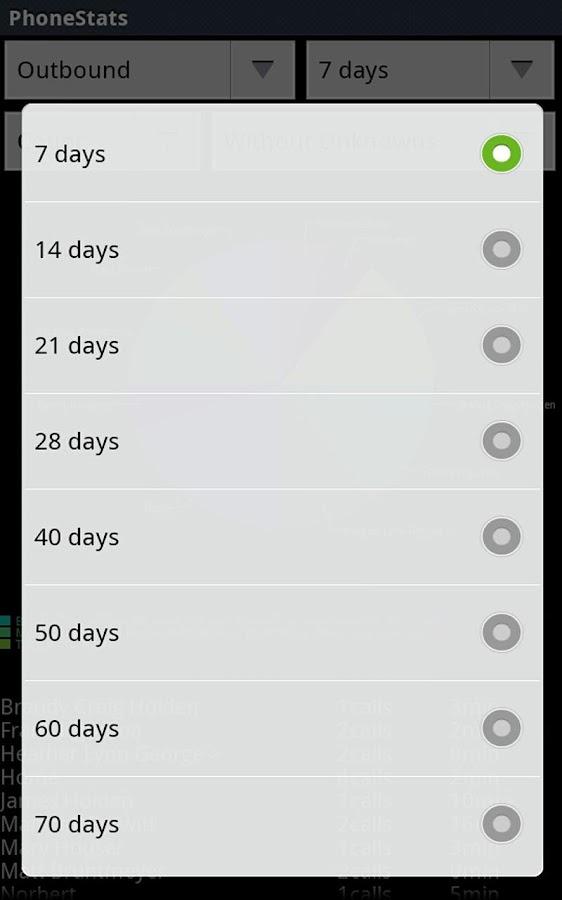 PhoneStats- screenshot