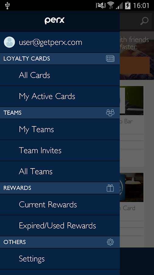 Perx - Mobile Loyalty Cards- screenshot
