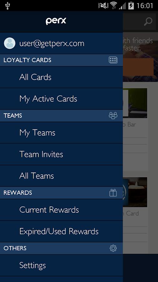 Perx - Mobile Loyalty Cards - screenshot