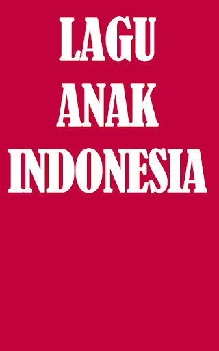 MP3 Lagu Anak Indonesia