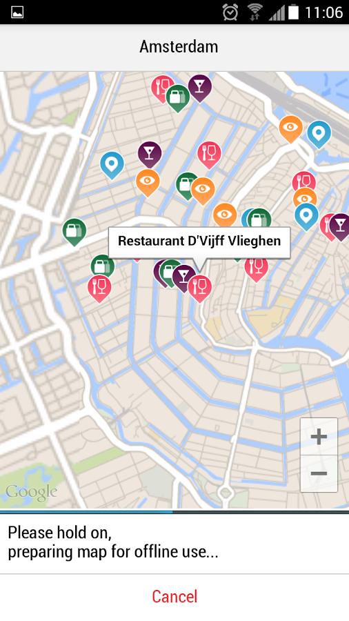 Amsterdam City Guide - screenshot