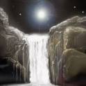 Mystic Waterfall LWP icon