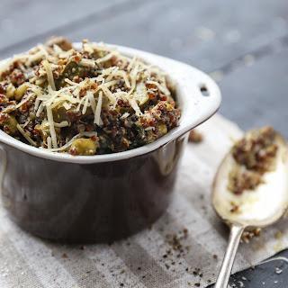 Pesto Quinoa Risotto {Gluten free}