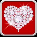 Diamond Hearts Live Wallpaper download