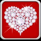 Diamantes Papel De Parede icon