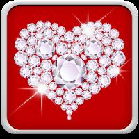 Diamond Hearts Live Wallpaper 10.0