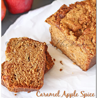 Caramel Apple Spice Bread