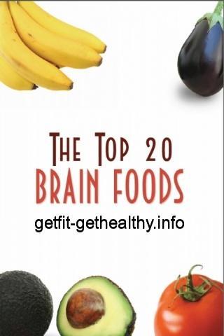 Top 20 Brain Foods