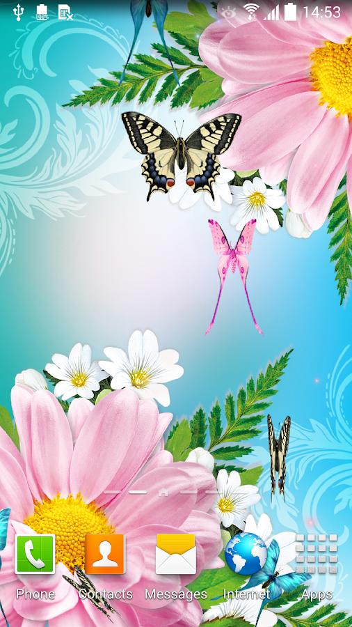 Butterflies Live Wallpaper HD Screenshot