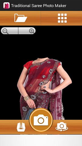 Traditional Saree Photo Maker