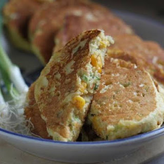 Corn-Scallion Pancakes