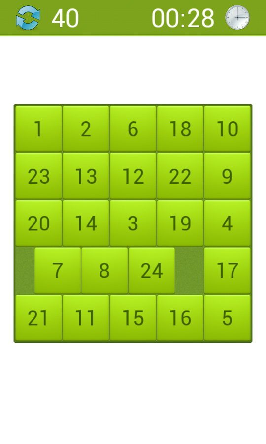 15 Puzzle - Sliding Tiles- screenshot
