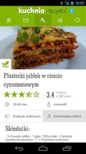 Przepisy - Kuchnia i Kropka - screenshot thumbnail