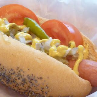 Chicago-Style Hot Dog Buns