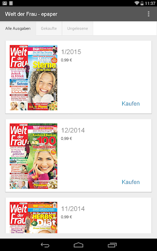玩新聞App Welt der Frau - epaper免費 APP試玩