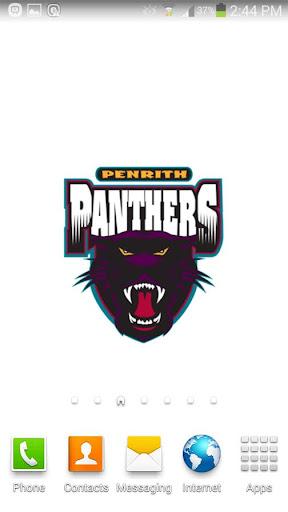 Penrith Panthers Spinning Logo