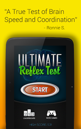 Reflex Test - Speed Challenge
