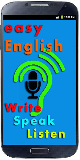 English Write Speak and Listen