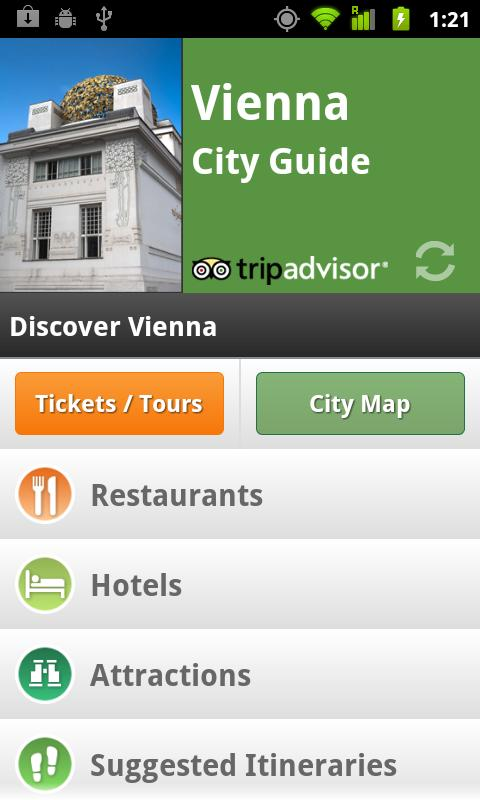 Vienna City Guide - screenshot