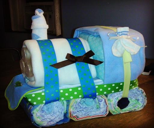 DIY Diaper Cake Ideas