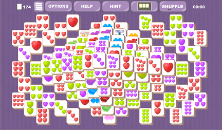 Valentine's Mahjong Tiles APK screenshot thumbnail 7