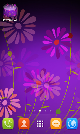 【免費個人化App】Flowers Live Wallpaper-APP點子