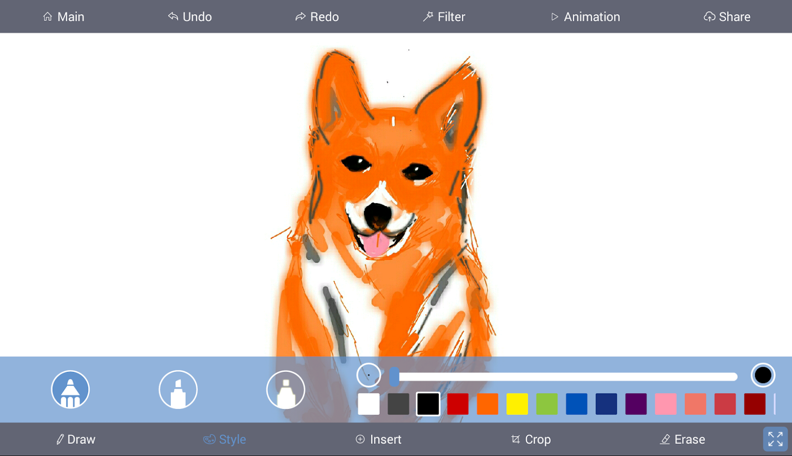 Sketch Kit - Drawing App- screenshot