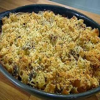 Macaroni Cheese with Mushrooms Recipe