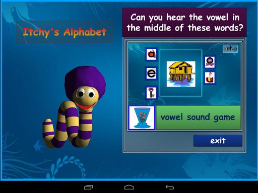 Itchy's Alphabet Vowel Lite