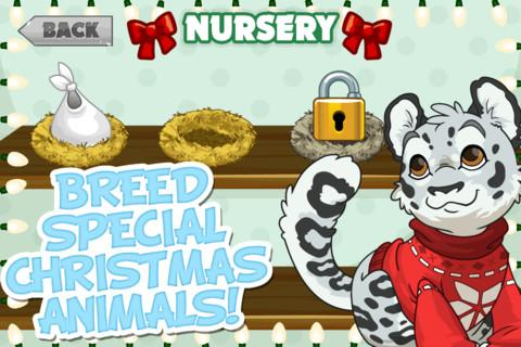 Tap Zoo: Santa's Quest - screenshot