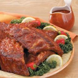 Barbecued Spareribs.
