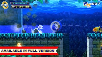 Screenshot of Sonic 4 Episode II LITE