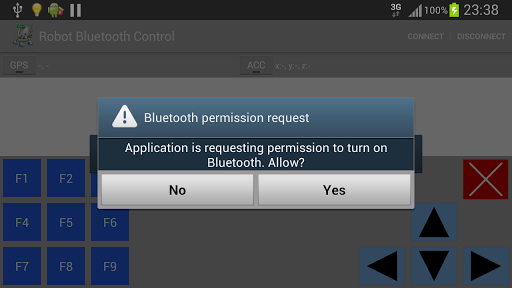 Robot Bluetooth Control