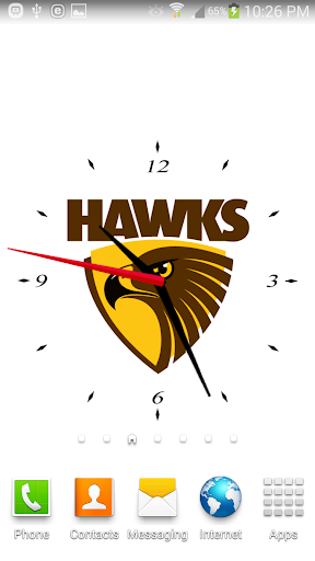 Hawthorn Analog Clock