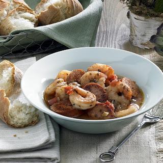 Cajun Shrimp Stew.