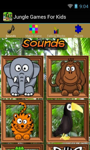 Jungle Games For Kids