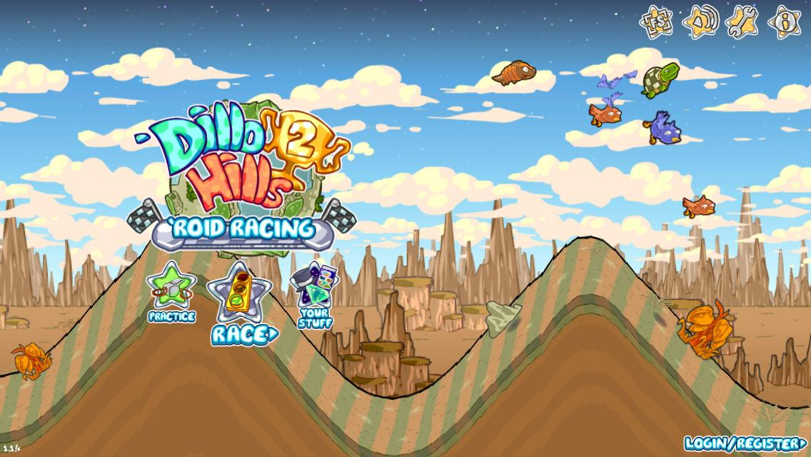 Dillo Hills 2: 'Roid Racing - screenshot