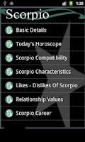 Screenshot of My Daily Horoscope