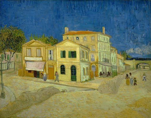 The yellow house (`The street') - Vincent van Gogh - Google Arts & Culture