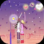 Love Night Live Wallpaper
