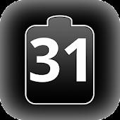 Date Battery Status Bar
