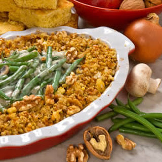 A+ Green Bean and Walnut Casserole