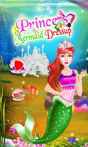 人魚公主女孩遊戲