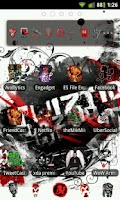 Screenshot of Juggalo Go Launcher Ex Theme