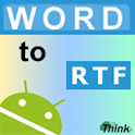 Word to RTF logo