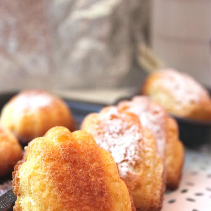 Madeleine Sponge Cakes Recipe